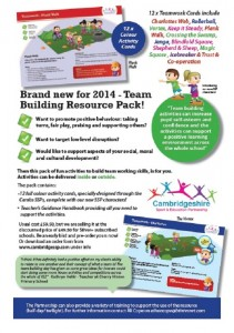 Team Building Resource Flyer