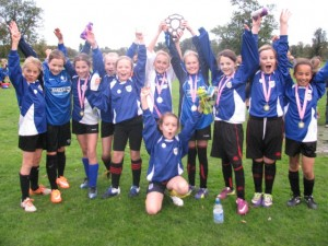 Histon & Impington Juniors Girls Champions!