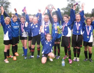 Histon & Impington Juniors Girls Champions!