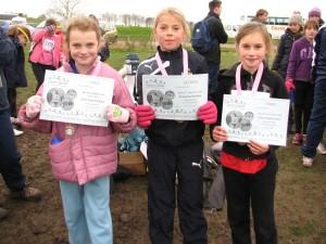 Year 5 Girls Individual Winners