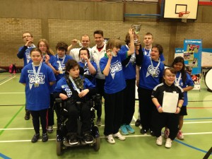 The victorious South Cambs adapted multi-sport team!