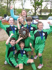 Swavesey Primary -High 5's Netball A Team Shield Winners