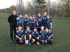 The two teams from Linton Heights Junior School.