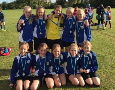 Histon & Impington Juniors -Girls Winners