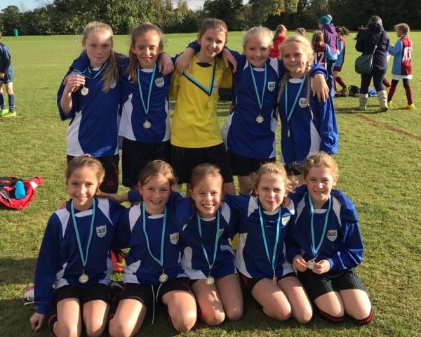 Histon & Impington Juniors -Girls Winners
