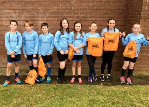 Spirit of the Games Award winners Elsworth Primary