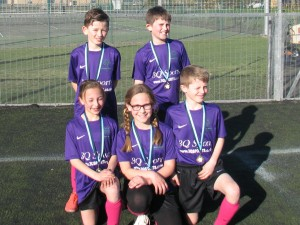 The winning team from Jeavons Wood