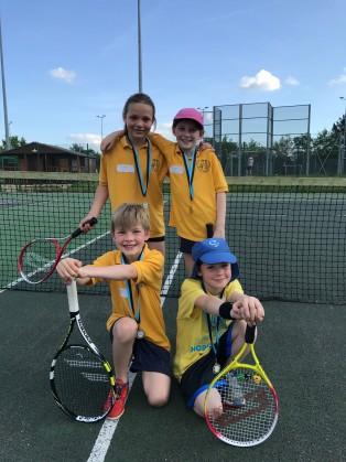 Plate winners: Elsworth Primary