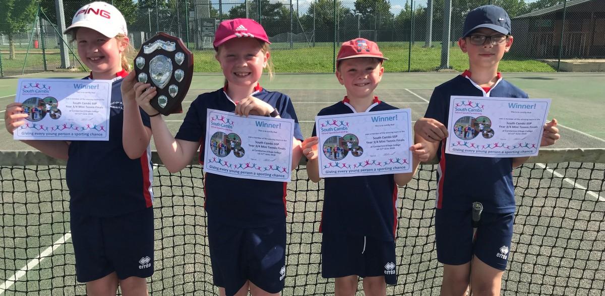 Harston & Newton tennis fianls winners