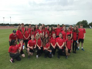 Sports Leaders from Swavesey supported the events