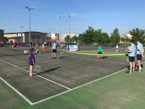 A lovely afternoon for tennis at Comberton VC