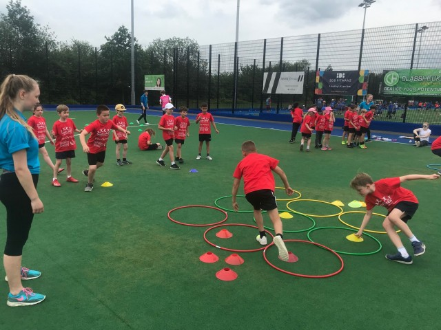 A team building challenge on the astro, Mini Olympics 2019