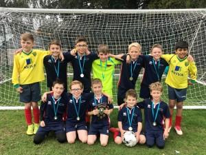 Small School winners Harston & Newton